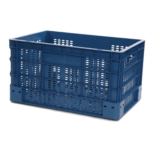 Bac europe ajouré 600x400x330 bleu Multiroir - Bleu
