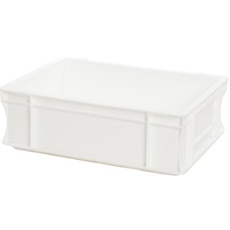Bac gerbable 400x300x120 blanc Multiroir - Blanc
