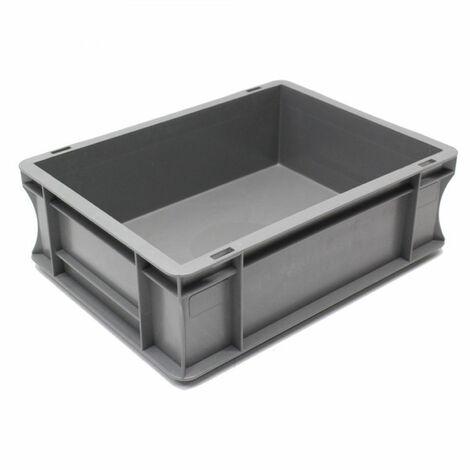 Bac gerbable 400x300x120 gris Multiroir - Gris