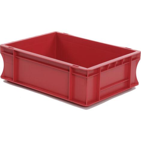 Bac gerbable 400x300x120 rouge Multiroir - Rouge