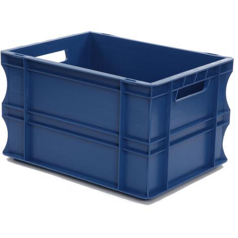 Bac gerbable 400x300x220 bleu Multiroir - Bleu