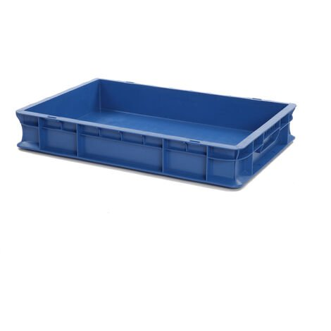 Bac gerbable 600x400x100 bleu Multiroir - Bleu