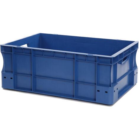 Bac gerbable 600x400x220 bleu Multiroir - Bleu