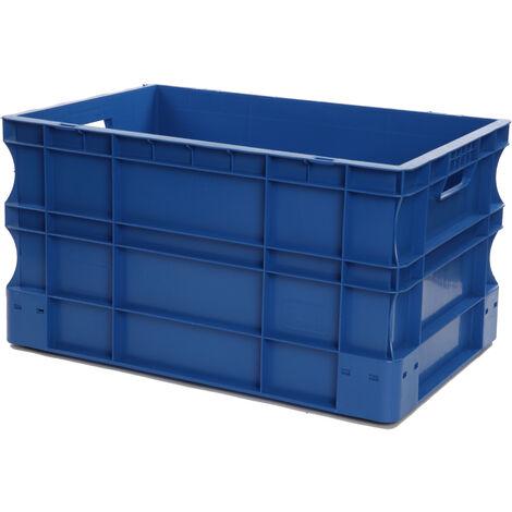 Bac gerbable 600x400x320 bleu Multiroir - Bleu