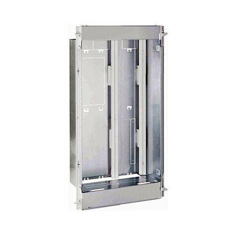 Bac métal Drivia 18 - Avec cadre, platine et coffret - Pour coffret 4 rangées