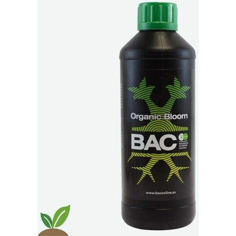 BAC ORGANIC BLOOM 1L – FERTILIZANTE ESPECIAL FLORACIÓN ECO