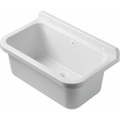 Bac plastique blanc, 550x340x210mm