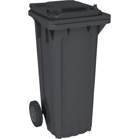 Bac poubelle 60 Litres , gris