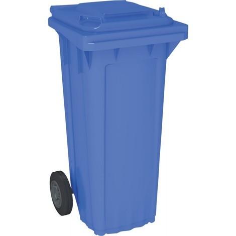 Bac poubelle WAVE 80-litres bleu