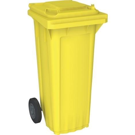 Bac poubelle WAVE 80-litres jaune