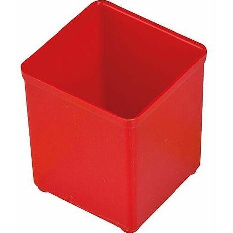 Bac rouge A3 pour mallettes L-BOXX 102 + i-BOXX et tiroir 72 52x52x61 mm