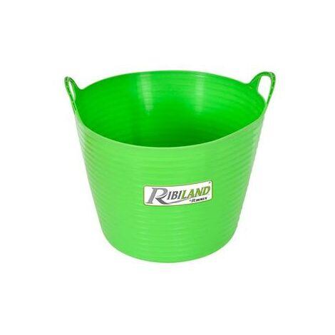 Bac souple rond 28 litres avec poignées