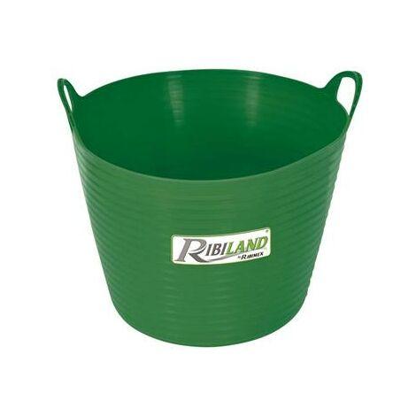 Bac souple rond 42 litres avec poignées