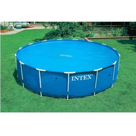 Bâche à bulles 110 g/m2 pour piscine ronde Ø 3,44m pour piscine Ø 3,66m