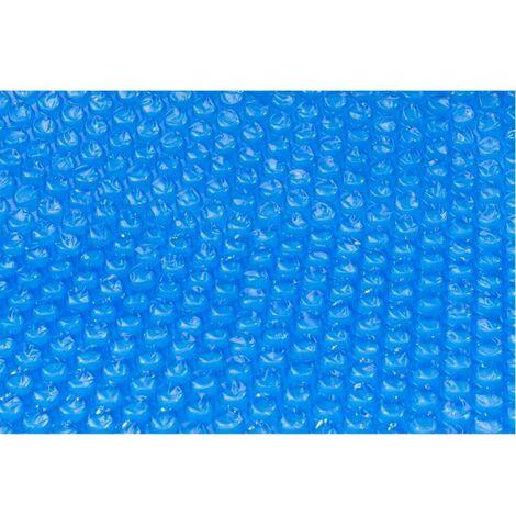 Bâche à bulles 180 microns pour piscine Ø 4,6m