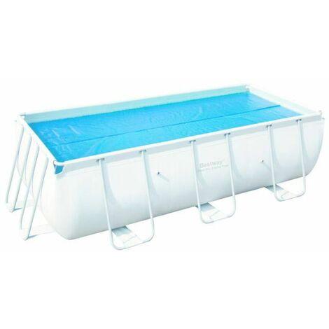 Bâche à bulles 380 x 180 pour Piscine Bestway Frame Pool