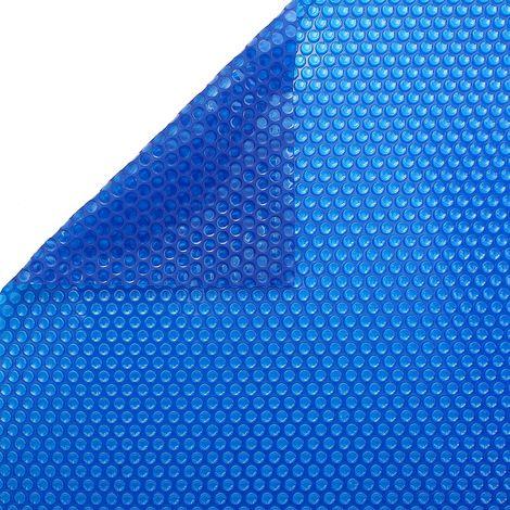 Bâche à bulles 400 microns BLEU/BLEU