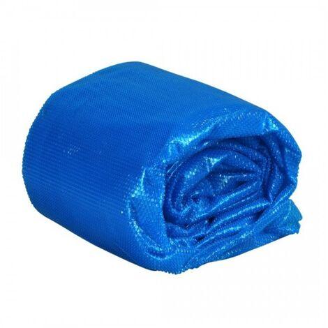 Bâche à bulles 400 microns compatible piscine CRISTALINE octo 840x370