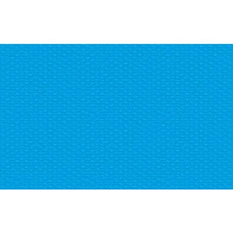 Bâche à bulles pour Piscine rectangulaire de protection extérieur en Plastique 2,6 m x 1,6 m Bleu