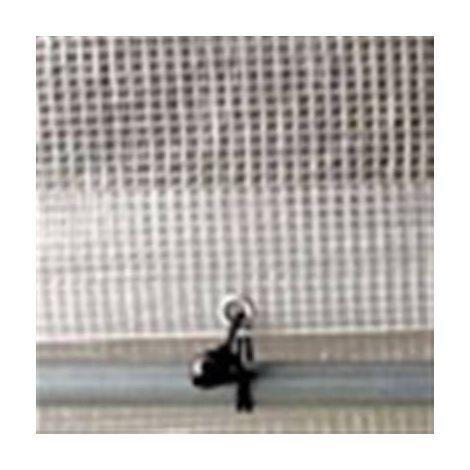 Bache armée transparente 160 grs 4 x 10 metres
