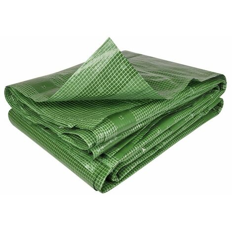 Bâche armée verte 160g/m2 2 x 3