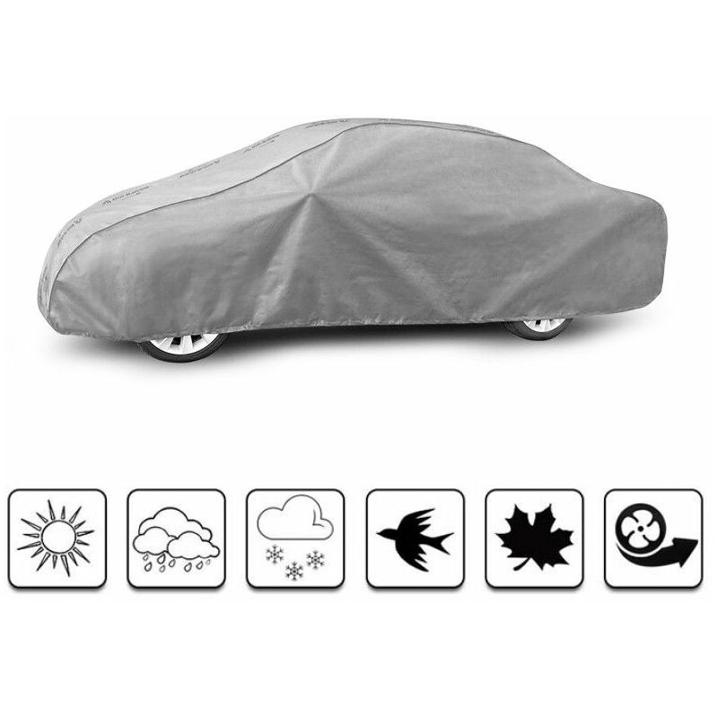 bâche auto pour Jaguar S-Type (2003 - Aujourd'hui ) - Gris