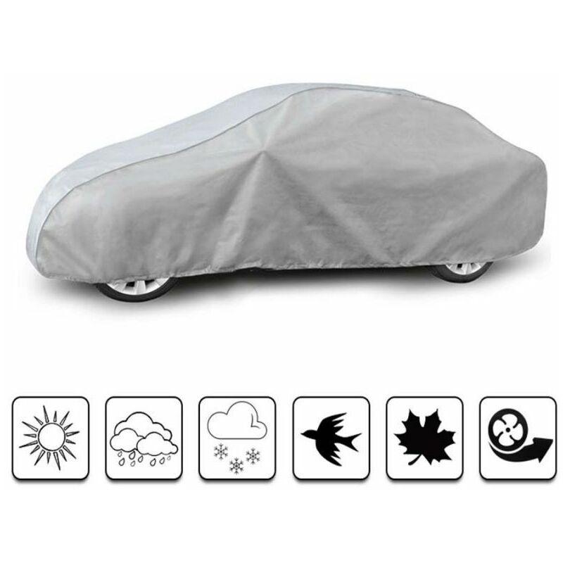 bâche auto pour Renault Fluence (2009 - Aujourd'hui ) - Gris