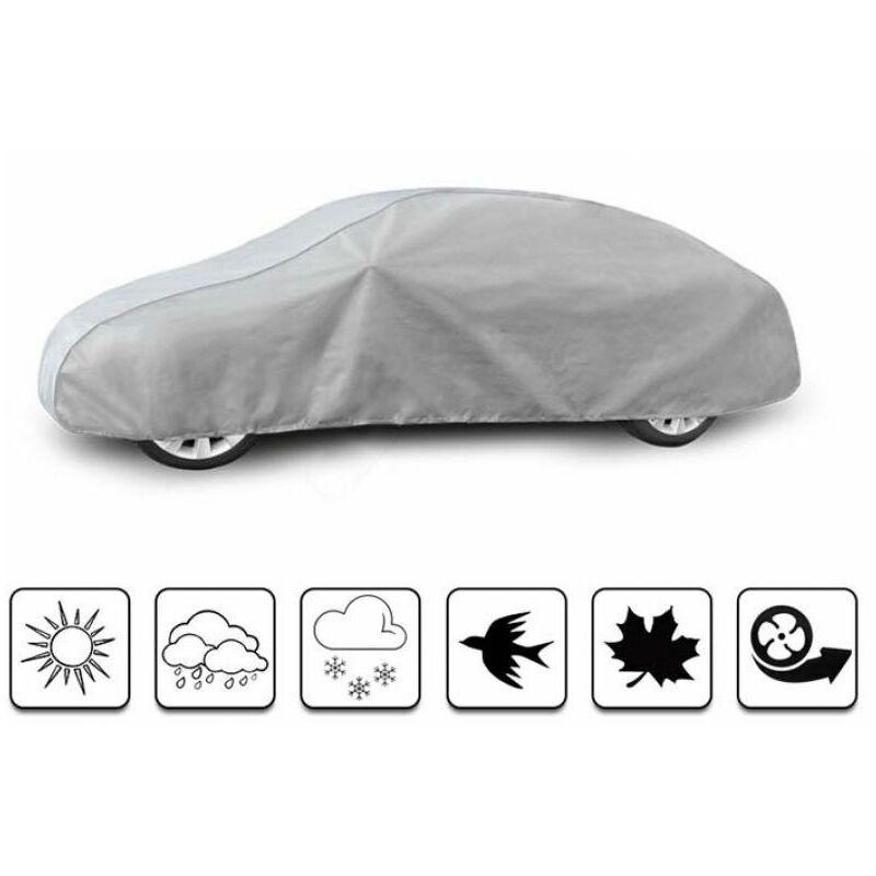 bâche auto pour Renault Megane III coupé (2008 - Aujourd'hui ) - Gris