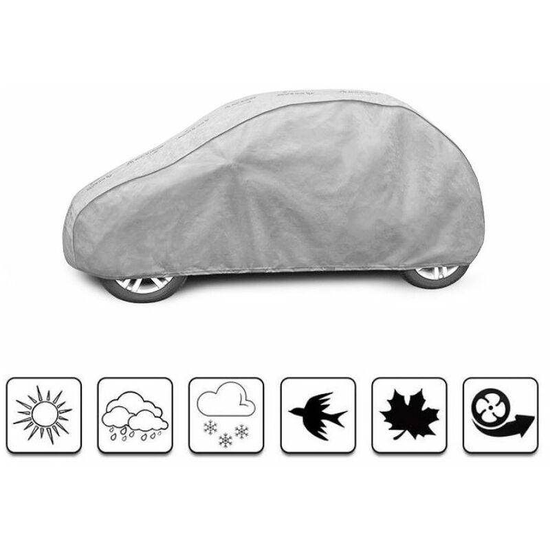 bâche auto pour Toyota Aygo (2010 - 2014 ) - Gris