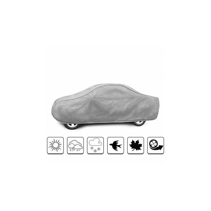 bâche auto pour Toyota Hilux I Pick-Up Simple Cabine (2005 - 2011 ) - Gris
