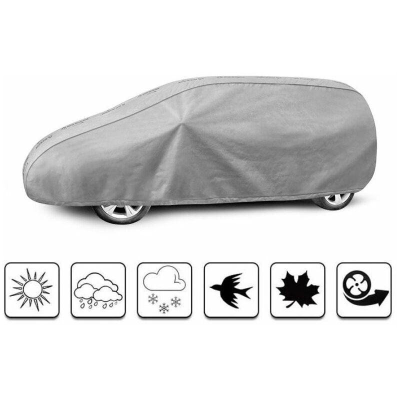 bâche auto pour Volkswagen Sharan (2010 - Aujourd'hui ) - Gris