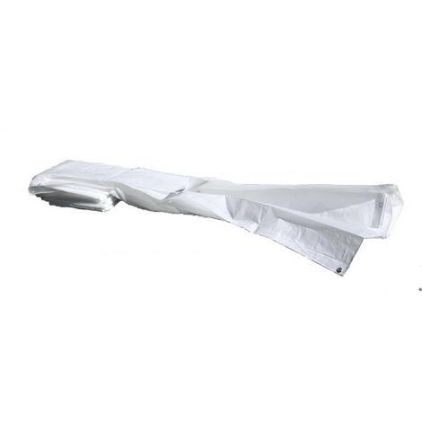 Bache blanco 1,76 x 3,41