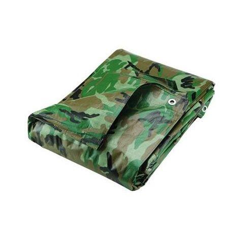 Bâche camouflage militaire imperméable 2,40 x 3 m airsoft paintball
