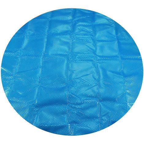 Bache Couverture bulles piscine Protection solaire Ronde 2.1M