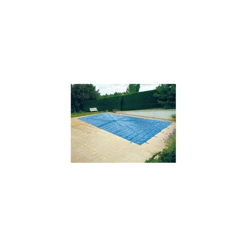 Bache couverture de protection pour piscine enterr e 8x14 metres prbp14008x142 - Protection pour piscine enterree ...