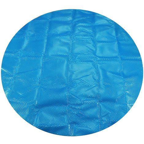 Bache Couverture piscine Protection solaire Ronde 2.1M