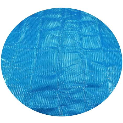 Bache Couverture piscine Protection solaire Ronde 2.1M Sasicare