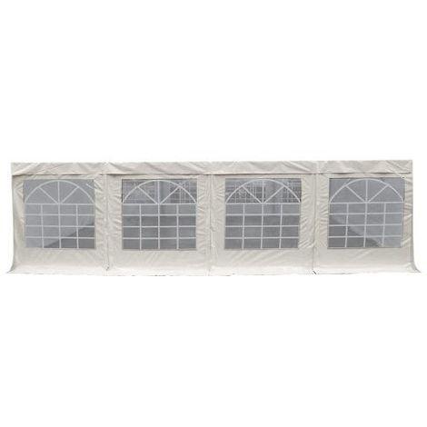 Bâche d'abri vitrée PVC 480g/m² multifonction - plusieurs longueurs dont 2m indépendant - Lot de 2
