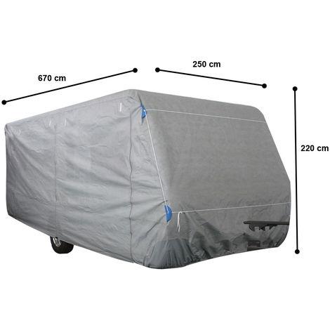 Bâche de caravane, imprégnée, Gr. XL