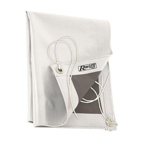 Bache de protection 100% PVC 5x8 m etanche - indéchirable