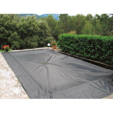 Bâche de protection 140g/m2  pour piscine rectangulaire 4 x 7 m