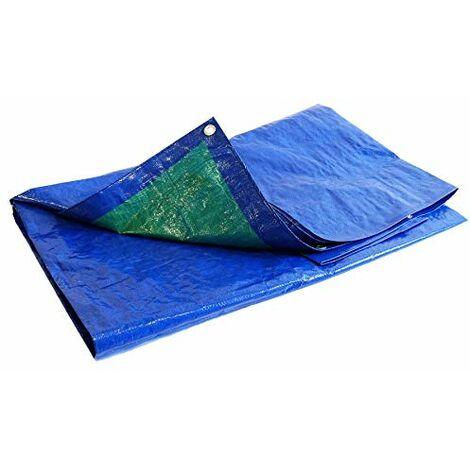 Bache de protection 150 g/m² - 4 x 5 m - bache plastique - bache exterieur - baches etanches - bache bois - protection peinture