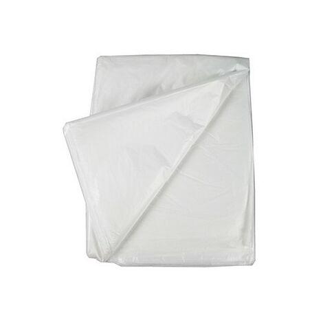Bâche de protection - 4x5m - Transparente