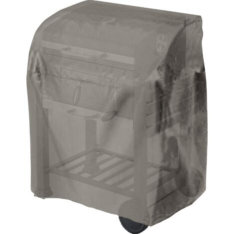 Bâche de protection barbecue chariot à grillade tepro Garten 8700 taupe S822951