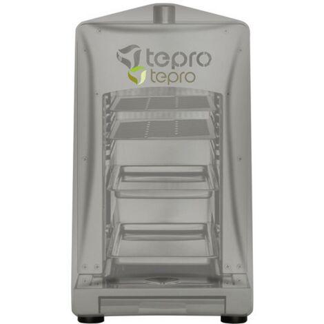 Bâche de protection barbecue tepro Garten 8413 8413 gaz anthracite 1 pc(s)