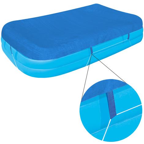 Bâche de protection BESTWAY pour piscine Family Pool 262x175x51cm