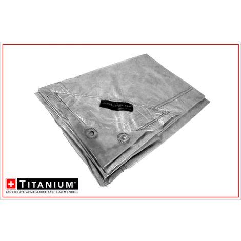Bâche de protection indéchirable TITANIUM® - 2 x 3 m