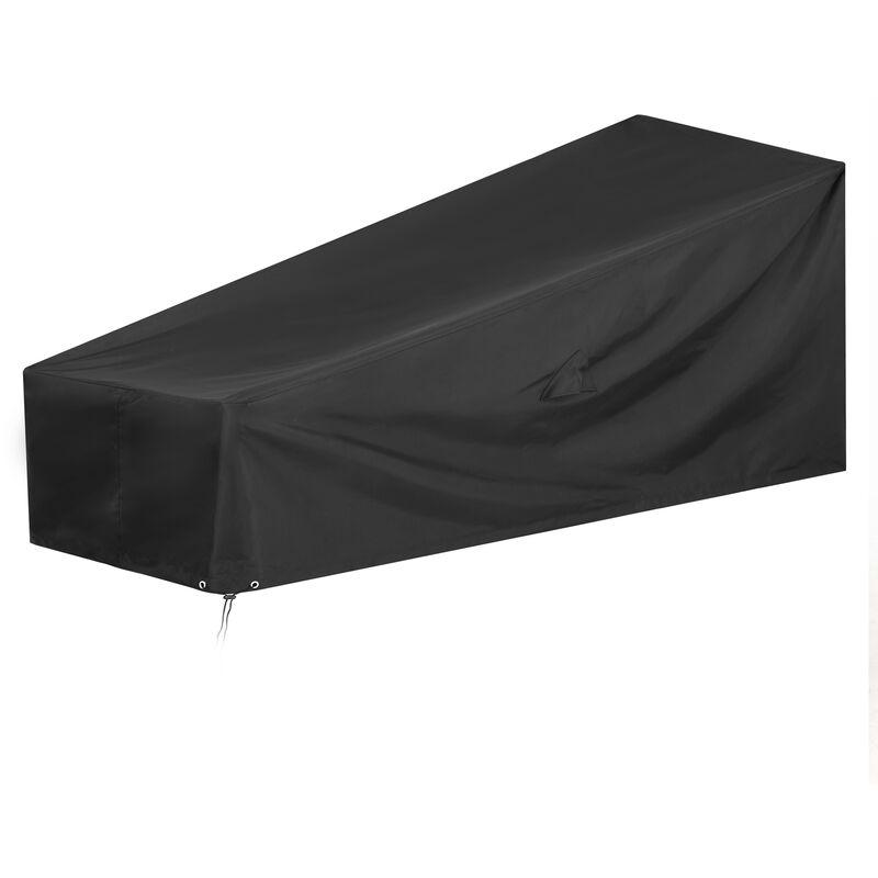 Kingsleeve - Bâche de protection Oxford 420D housse pour meubles jardin hydrofuge mobilier 160/155x60x75/39 (de)