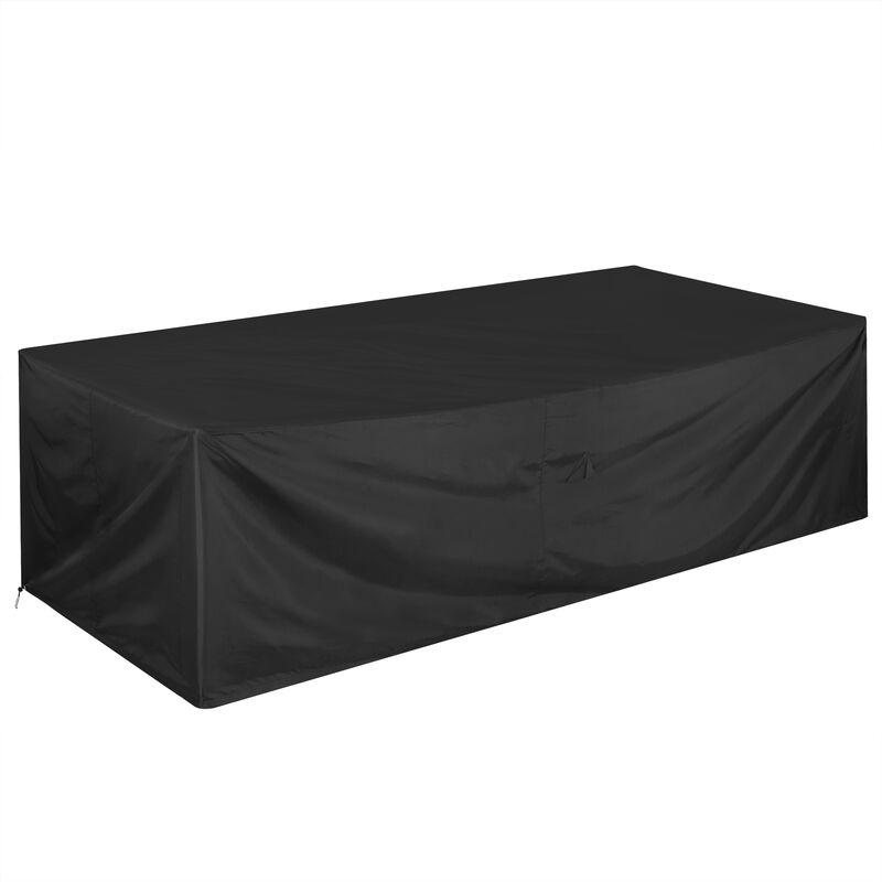 Bâche de protection Oxford 420D housse pour meubles jardin hydrofuge mobilier 308x138x89 cm (de)