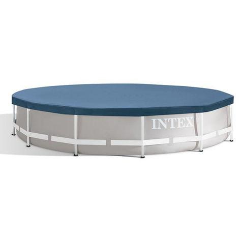 Bâche de protection piscine tubulaire ronde Ø 4,27 m - Intex